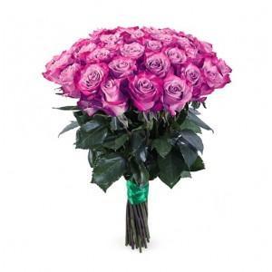 17 сиреневых роз