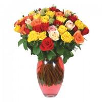 21 микс розы