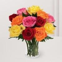 13 розы микс