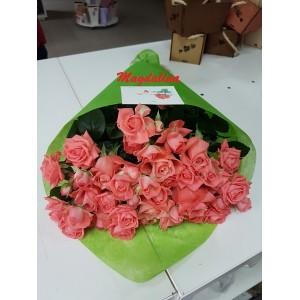14. 9 кустовых роз