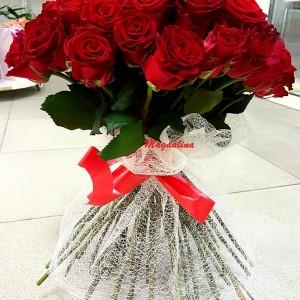 85 красных роз