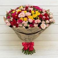 0010.  51 кустовых роз